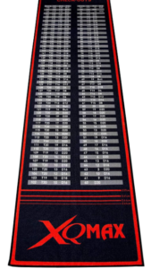 XQmax Check Out Dart Tapis