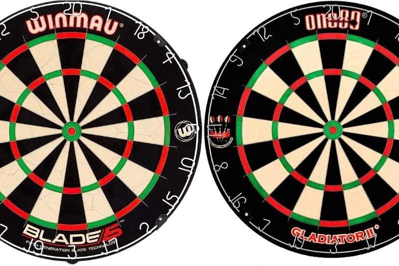 Winmau Blade 5 vs one80 Gladiator 3
